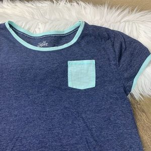 Accent Pocket Tee by Justice